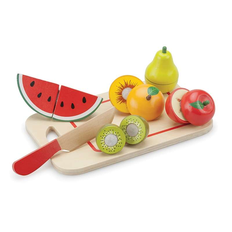 Schneide-Set Früchte mit Brettchen