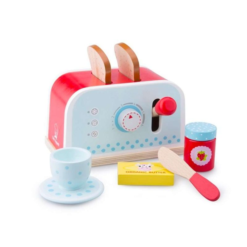 Toaster-Set mit Zubehör