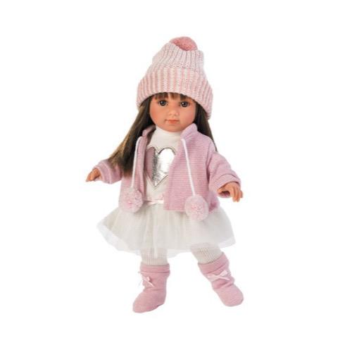 Puppe Sara brünett 35cm