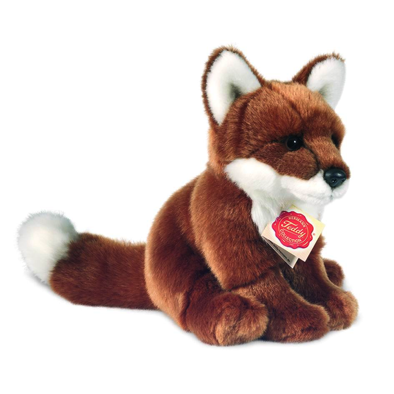 Fuchs sitzend 20 cm