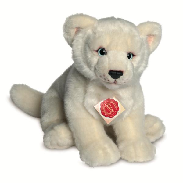 Teddyhermann Löwin weiß 28 cm