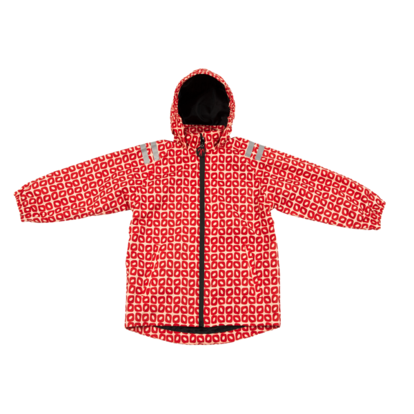 Ducksday Regenjacke Funky Red