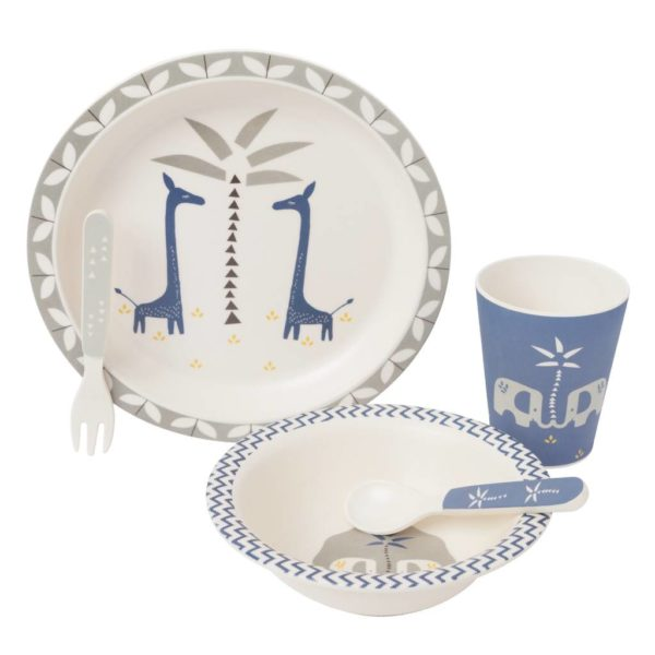 Fresk Bambus dinner Set Giraffe