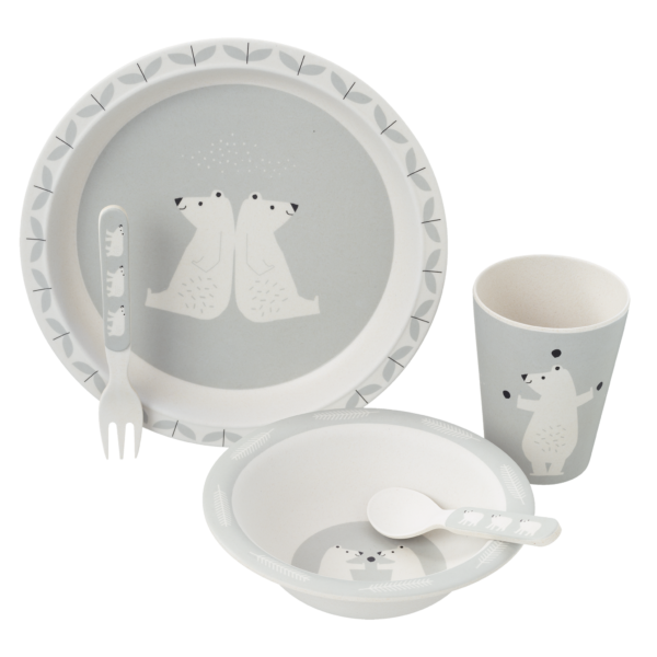 Fresk Bambus dinner Set Bär