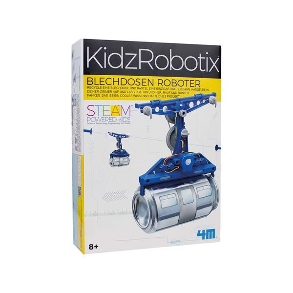 Blechdosen Roboter Seilbahn