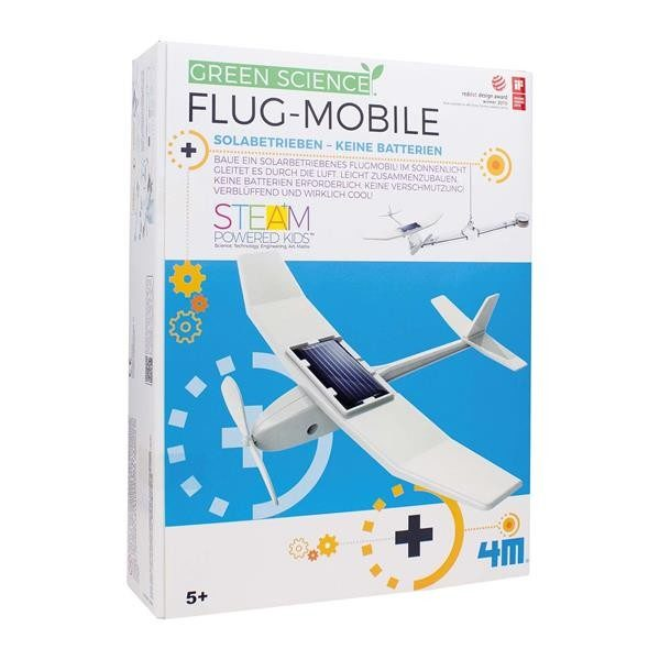 Flug-Mobile Solarbetrieben