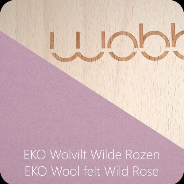 Wobbel Original Filz Wild Rose