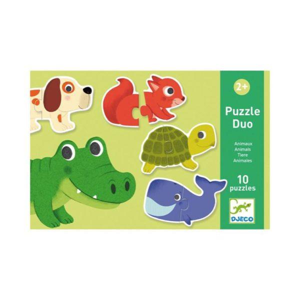 Puzzle Duo Tiere