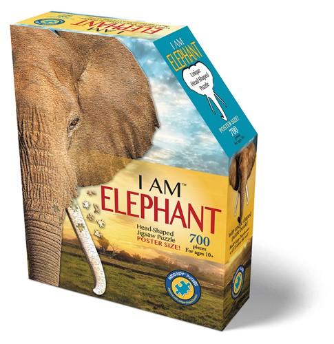 Shape Puzzle Elefant 645 Teile