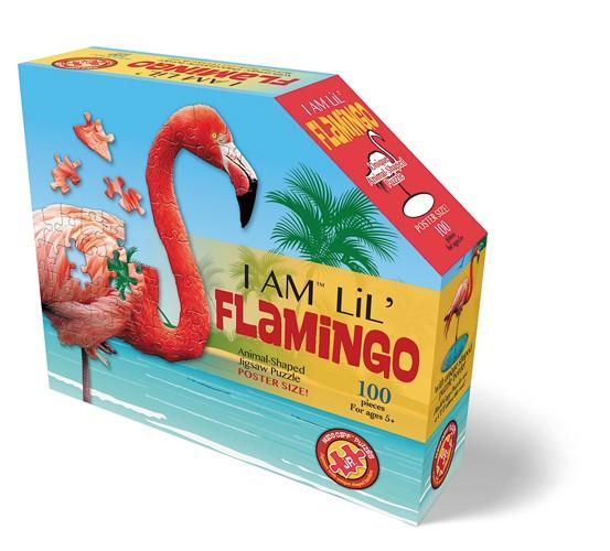 Shape Puzzle Junior Flamingo 100 Teile
