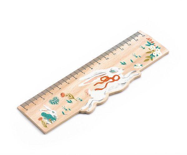 Holzlineal 15 cm Lucille