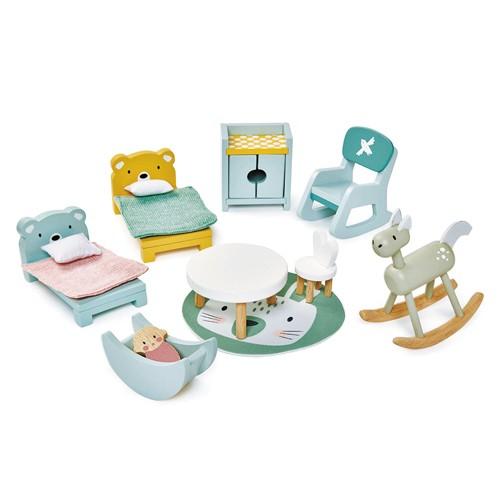 Kinderzimmer Puppenhaus Set