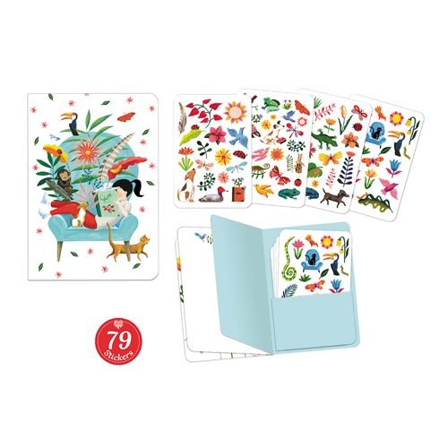 Notizbuch mit Stickers Sarah