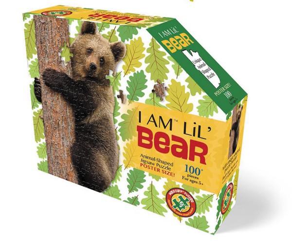 Shape Puzzle Junior Bär 100 Teile