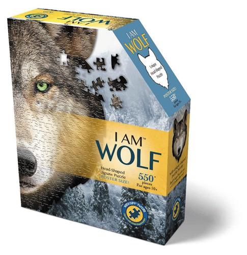 Shape Puzzle Wolf 535 Teile