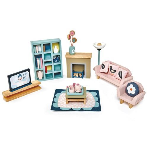 Wohnzimmer für Puppenhaus