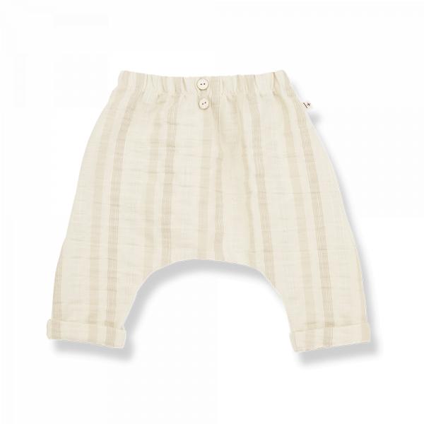 1+INTHEFAMILY - Baggypants PAU Beige