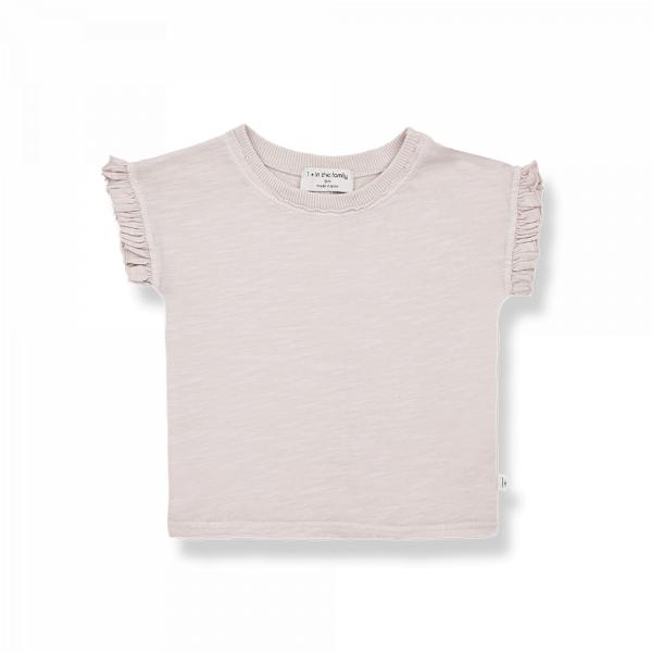 1+INTHEFAMILY - T-Shirt Mireia Rose