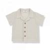 1+INTHEFAMILY - T-Shirt Polo Stone