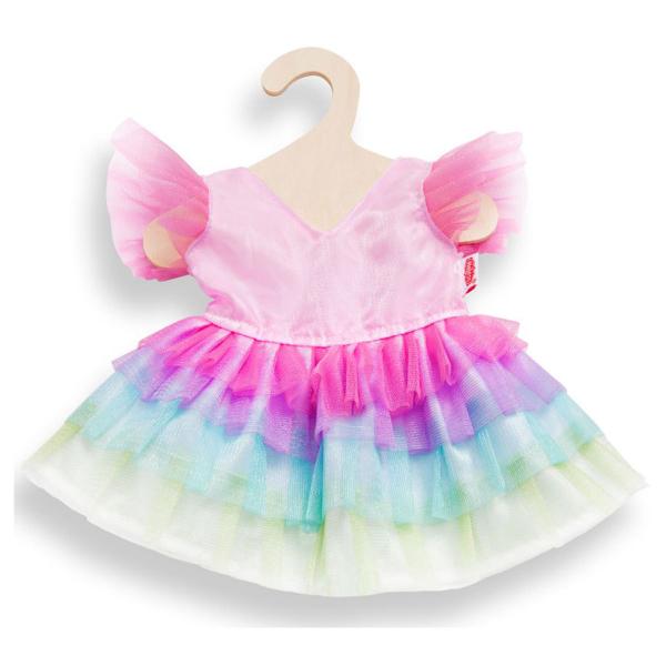 Kleid Regenbogen für Puppen 35-45cm