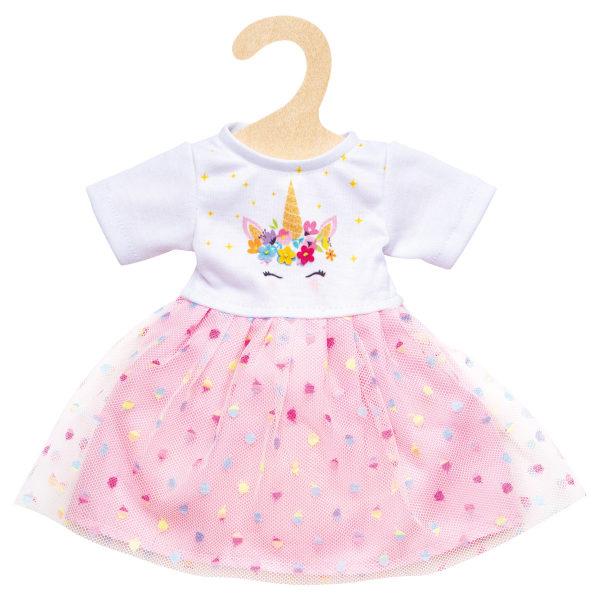 Einhornkleid Hannah für Puppen 28-35 cm