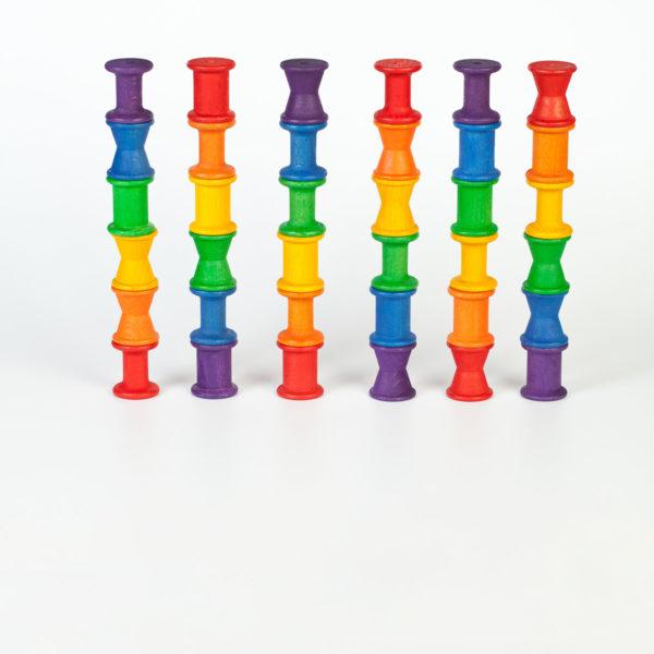Grapat 36 Spulen Regenbogen