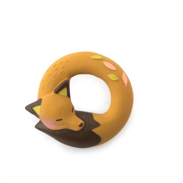 Beissring Fuchs aus Naturkautschuk