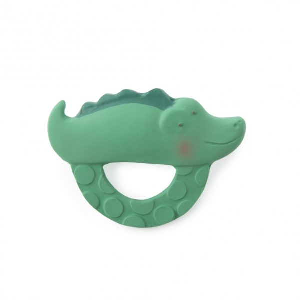Beissring Krokodil aus Naturkatschuk