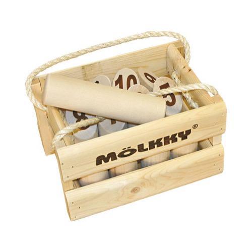 Mölkky Original in Holzverpackung