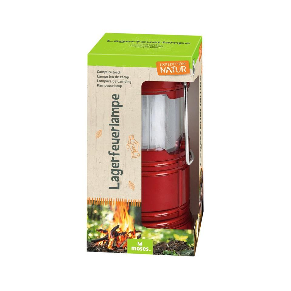 Lagerfeuerlampe Rot