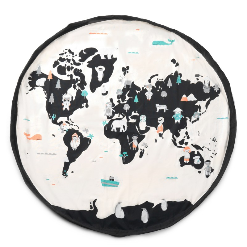 Play&Go Spielmatte Worldmap 140cm