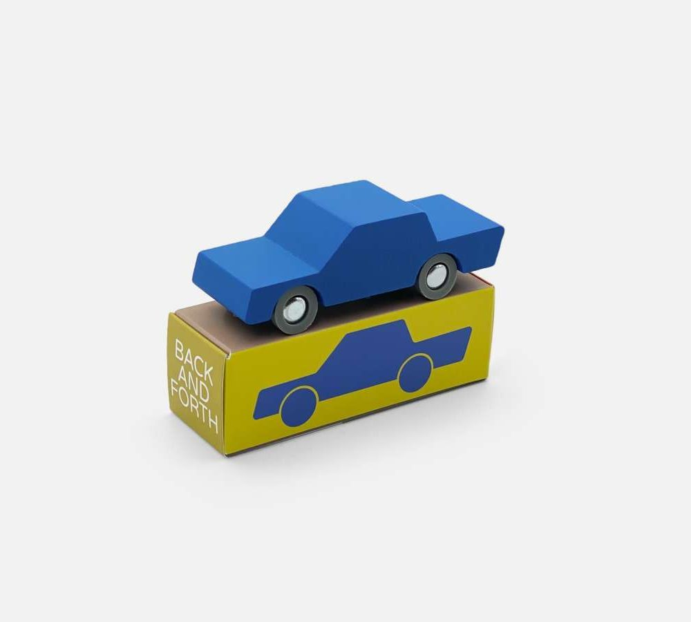Waytoplay Back and Forth car - Blau