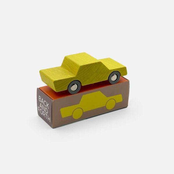 Waytoplay Back and Forth car - Gelb