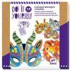 DIY - Mosaik Masken Dschungeltiere