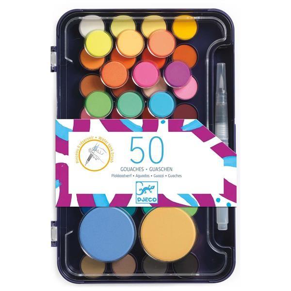 50 Wasserfarben